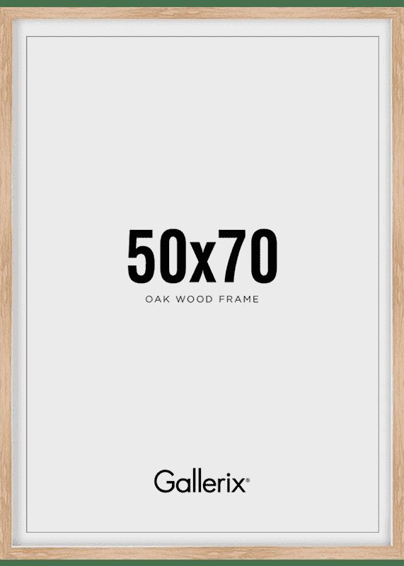 Fotolijst Houten Lijst Eik 50x70-0