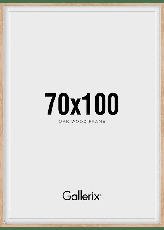 Fotolijst Houten Lijst Eik 70x100-0