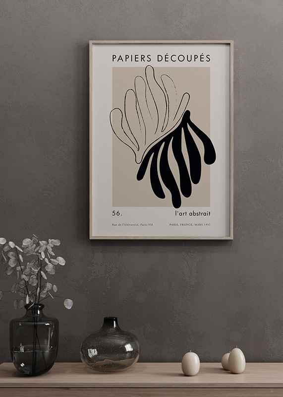 Matisse Cutout Black-2
