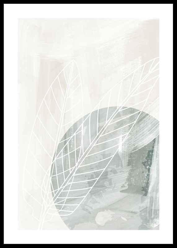 Watercolor Leaf Silhouette-0