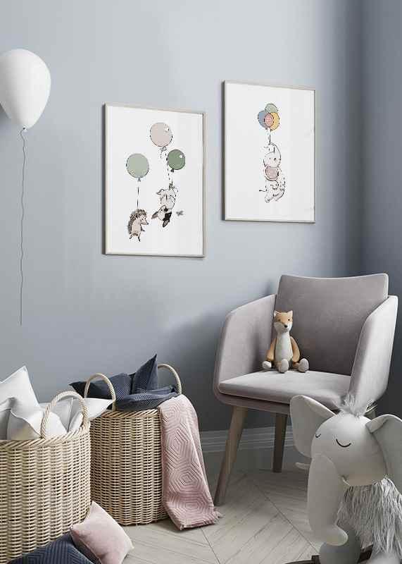 Animals And Balloons No4-2