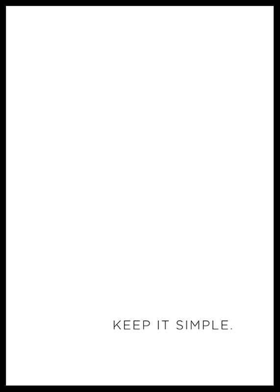 Keep It Simple-0