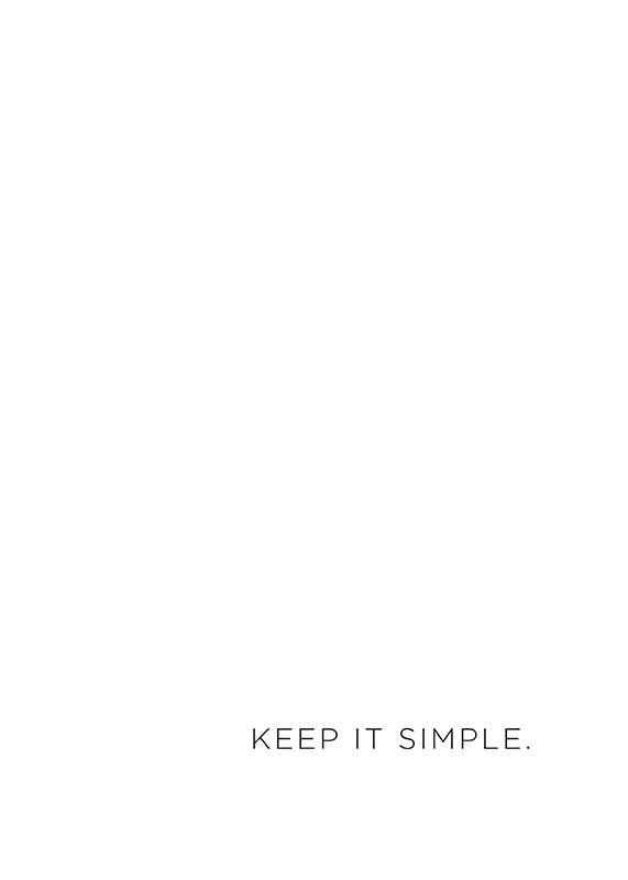 Keep It Simple-1