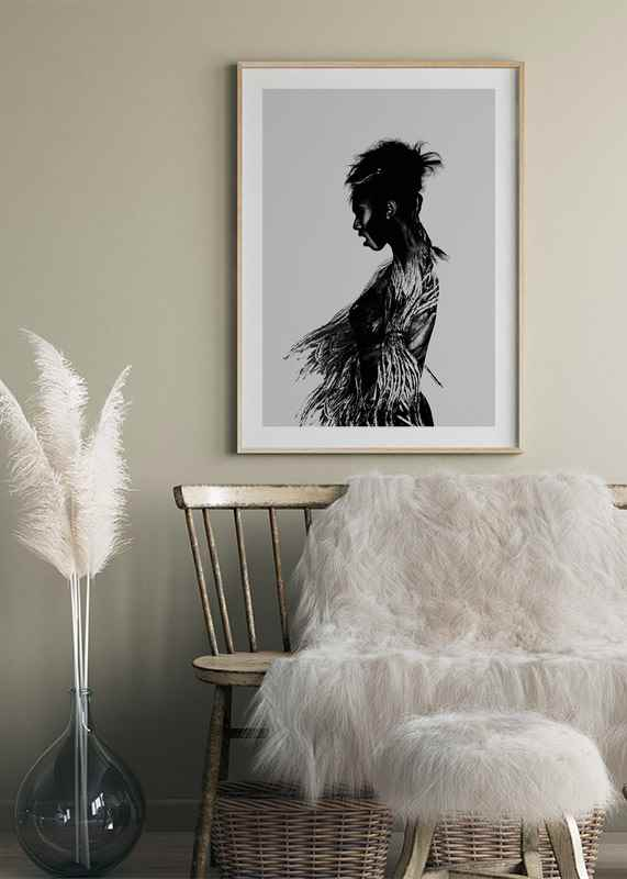 Black Woman Paint-4