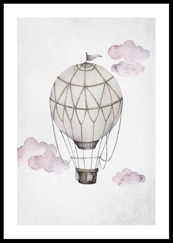 Watercolor Hot Air Balloon-0