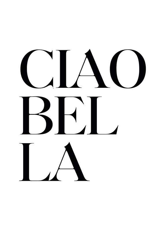 Ciao Bella-1
