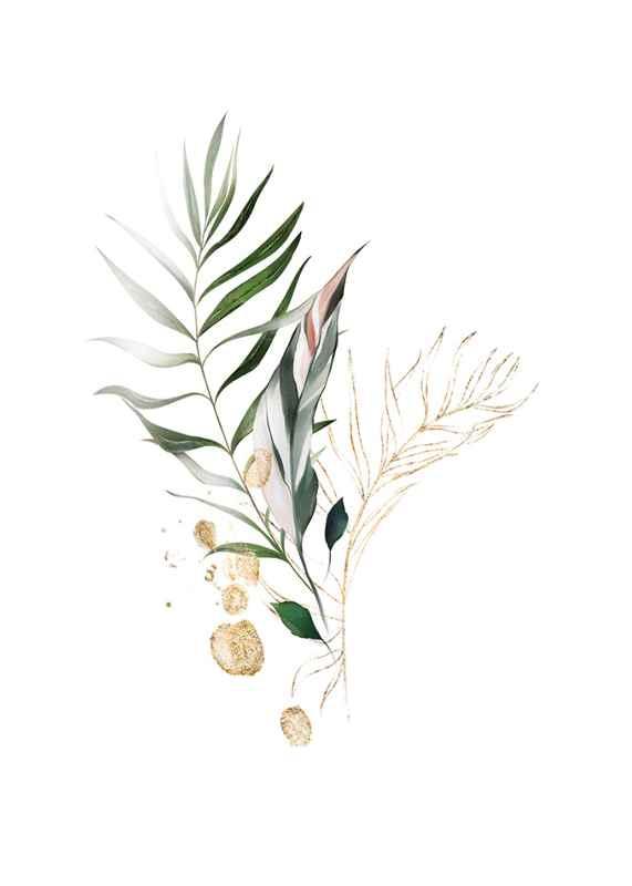 Watercolor Botanical No4-1