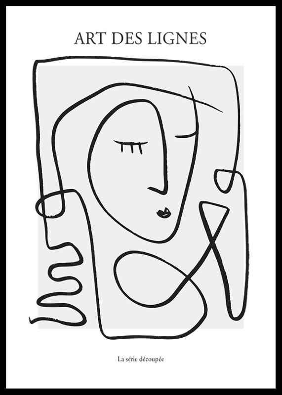 Art De Lignes No3-0