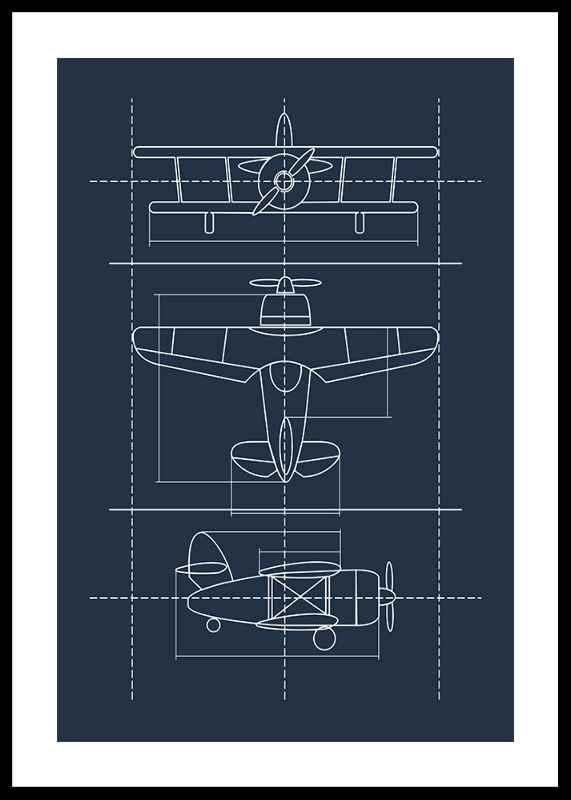 Blueprint Plane