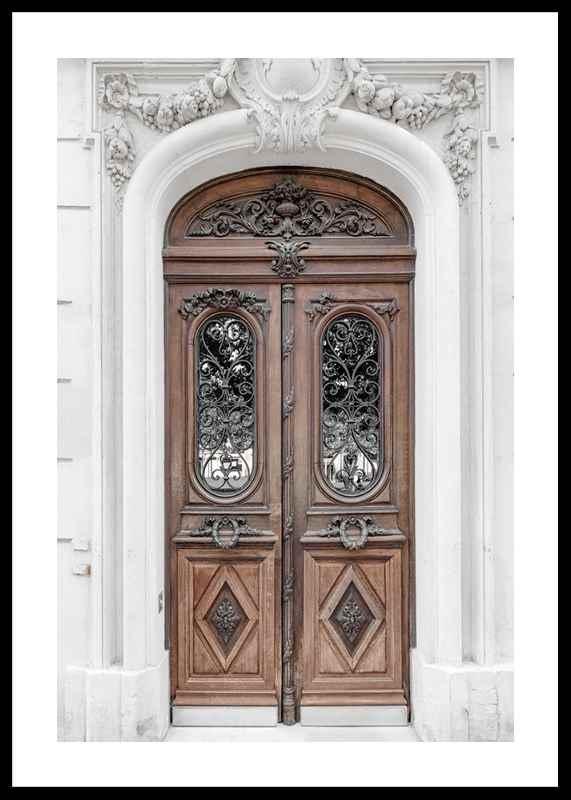 Brown Double Door