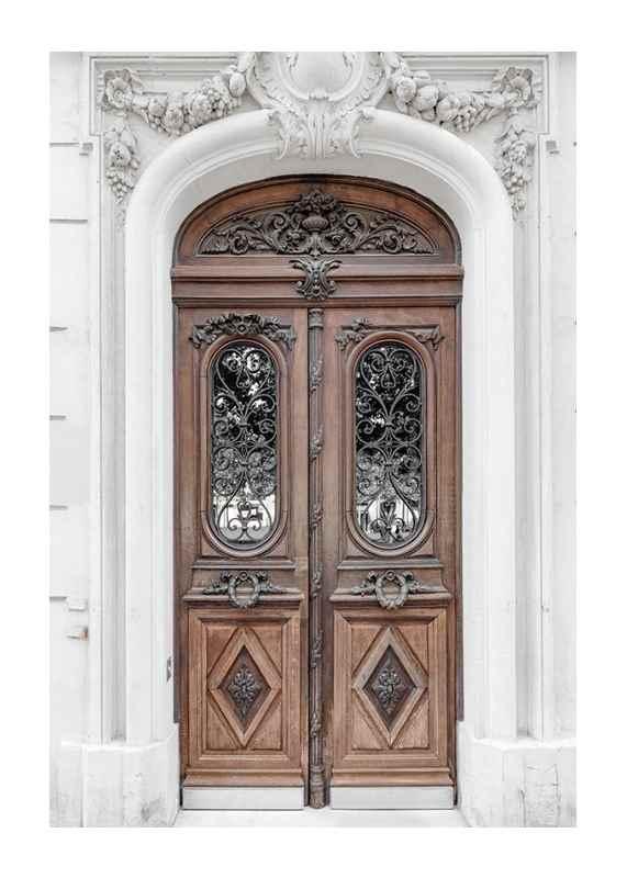 Brown Double Door-1
