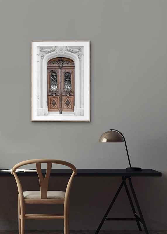 Brown Double Door-4