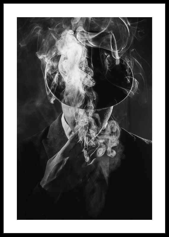 Smoking Man-0