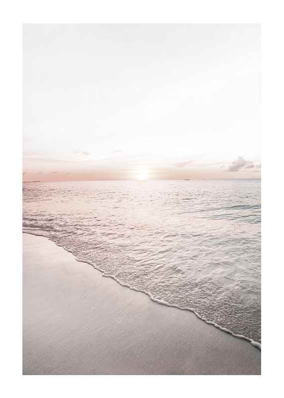 Calm Beach Sunset-1