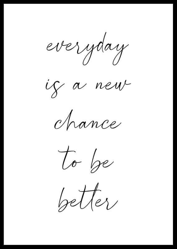 A New Chance