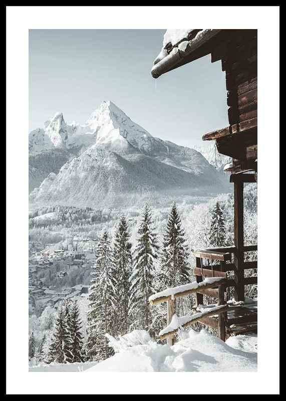 Cabin In The Alps