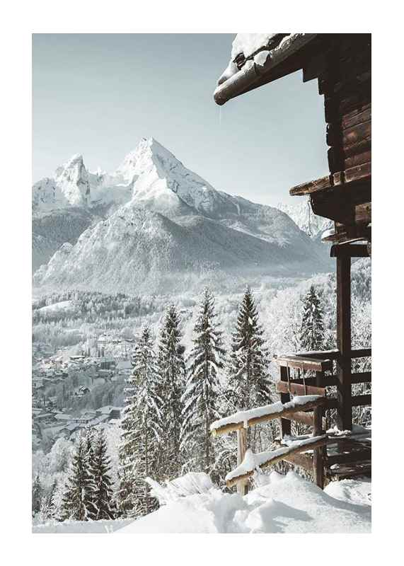 Cabin In The Alps-1