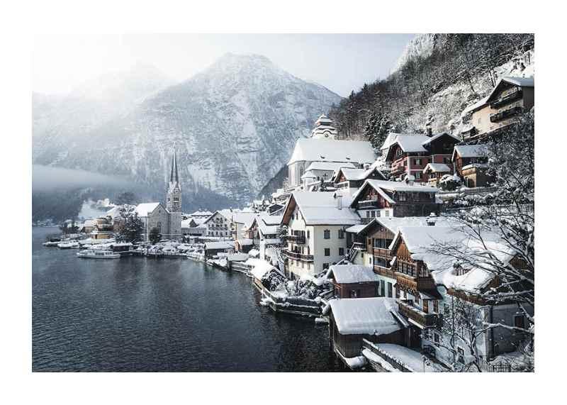 Hallstatt In Winter-1