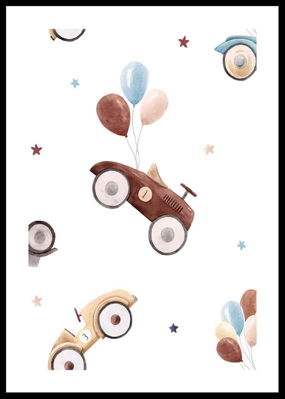 Cars And Balloons-0