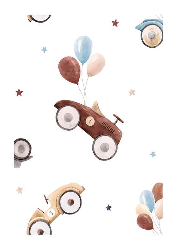 Cars And Balloons-1