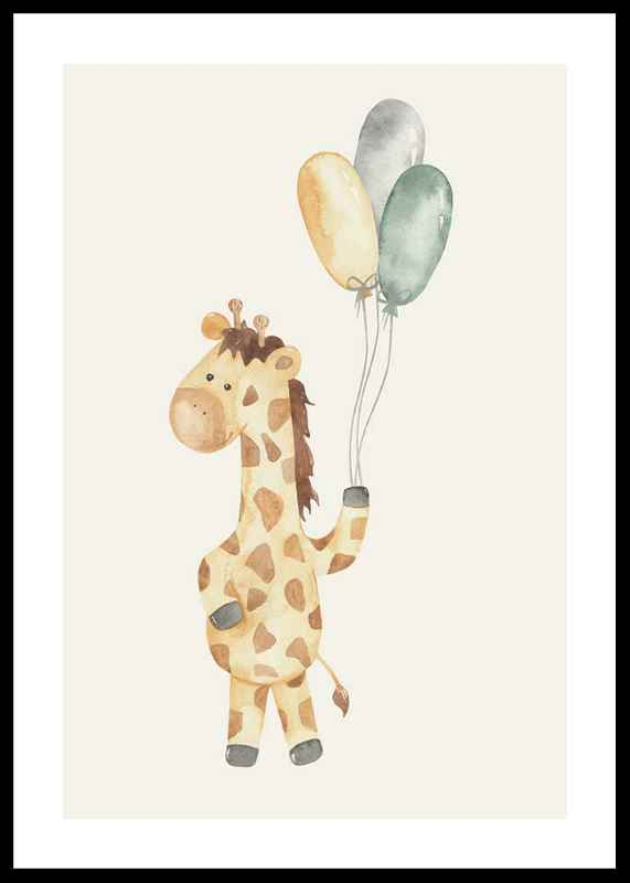 Giraffe Balloons-0