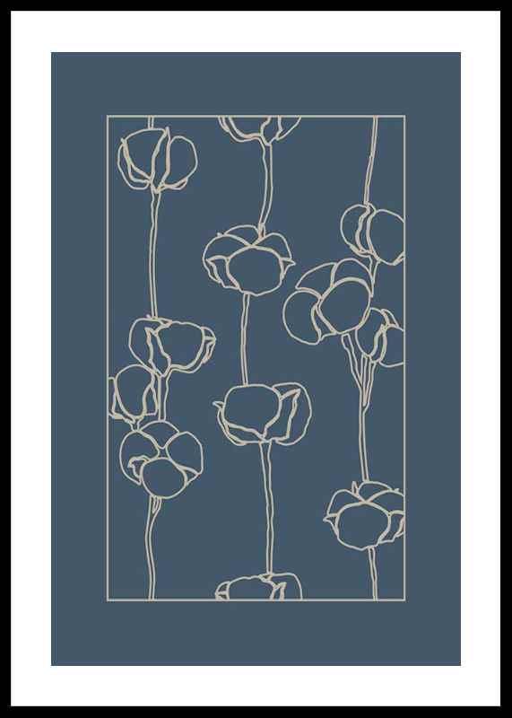 Botanical Line Art No2-0