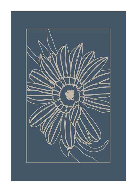 Botanical Line Art No3-1