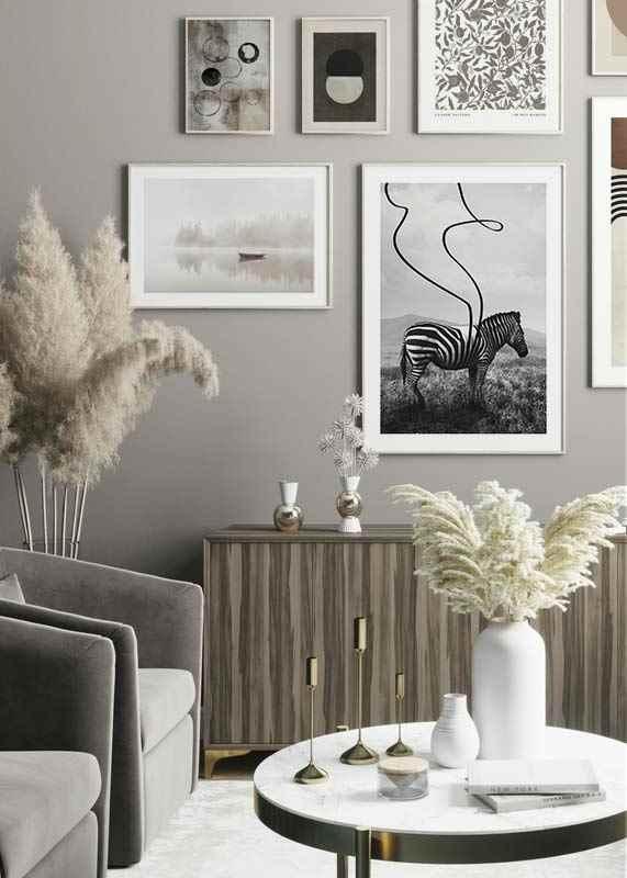 Abstract Zebra-4
