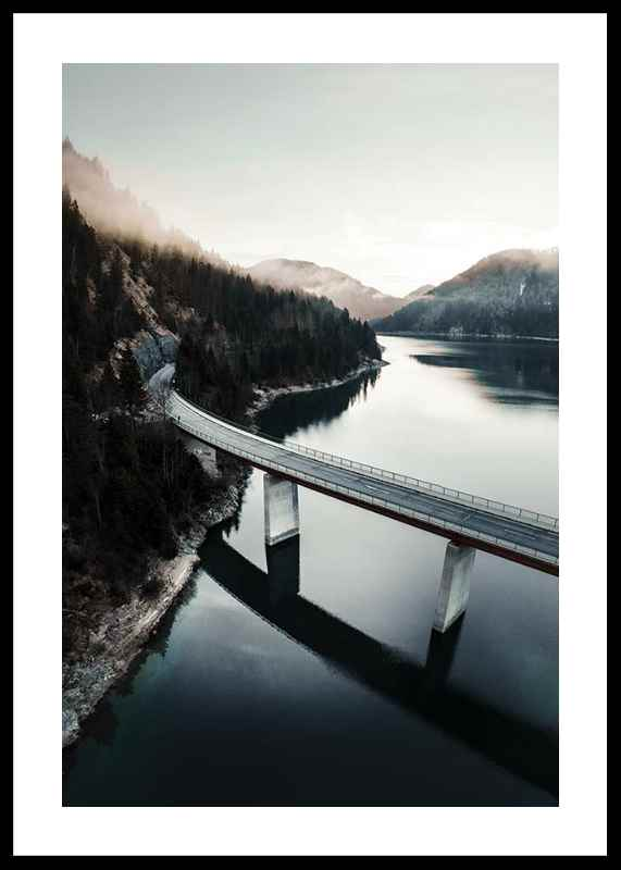 Bridge Over Lake-0