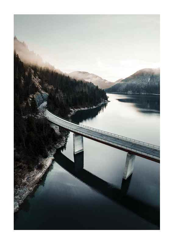 Bridge Over Lake-1