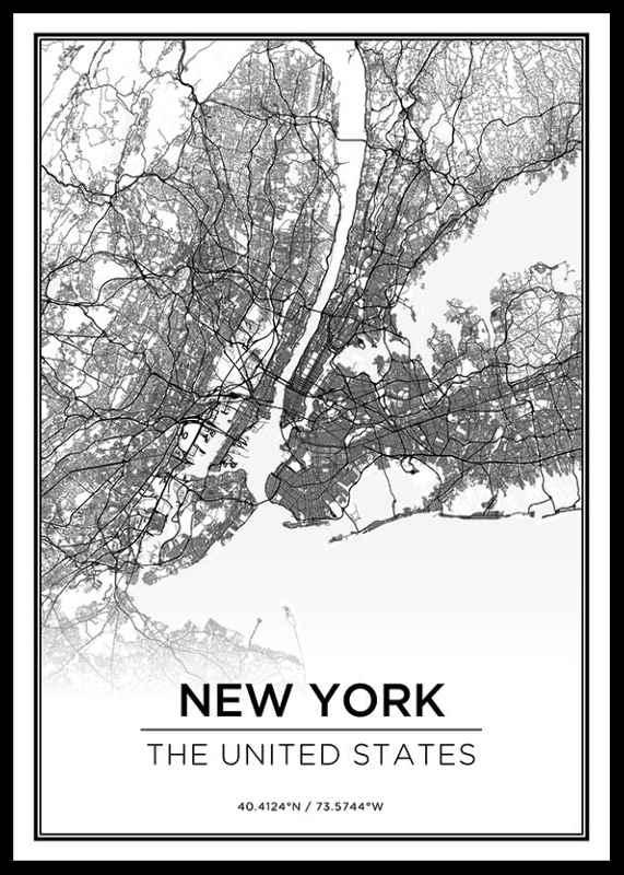 New York Kaart-0