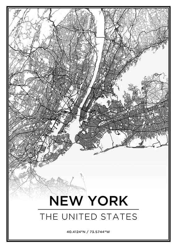 New York Kaart-1