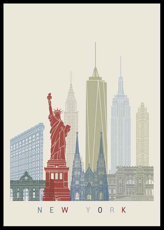 New York Landmarks-0
