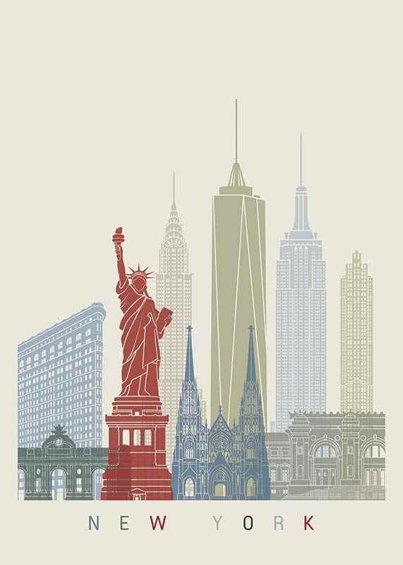 New York Landmarks-1