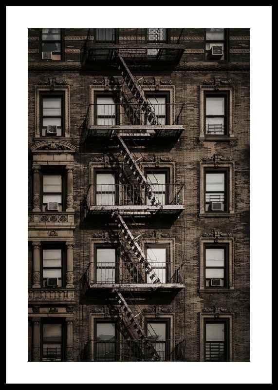 New York Fire Escape-0