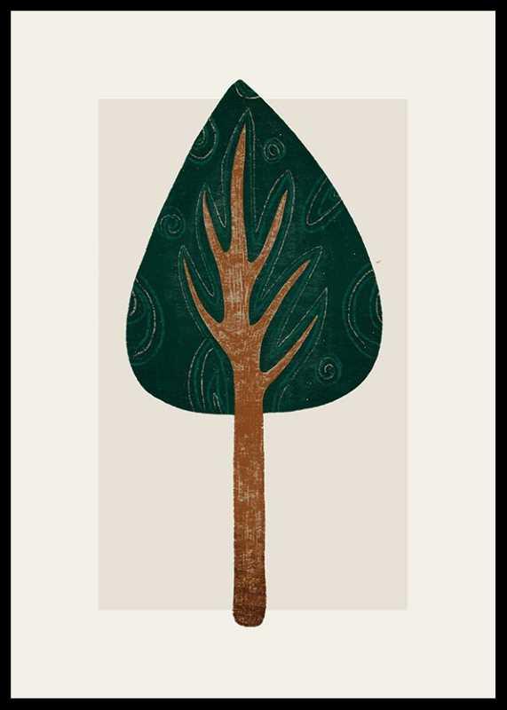 Abstract Tree No1-0