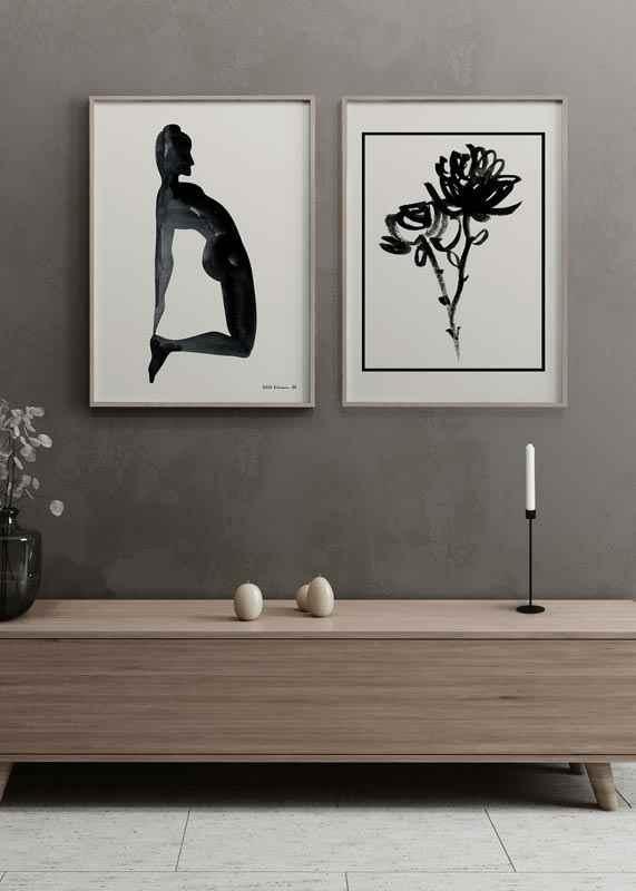 Black Flowers-2