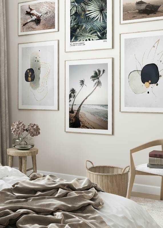 Beach Palm Trees-4