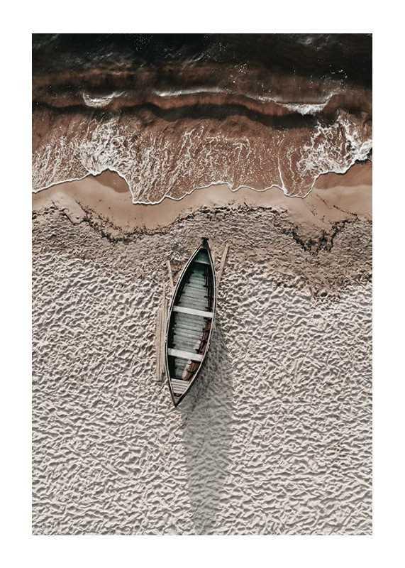 Boat On Beach-1