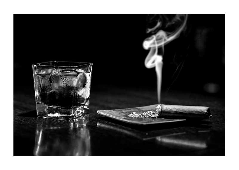 Whiskey And Cigar-1