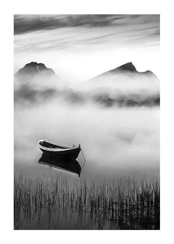 Boat In Mist-1