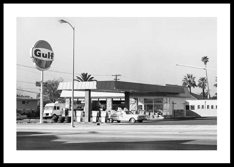 Vintage Petrol Station