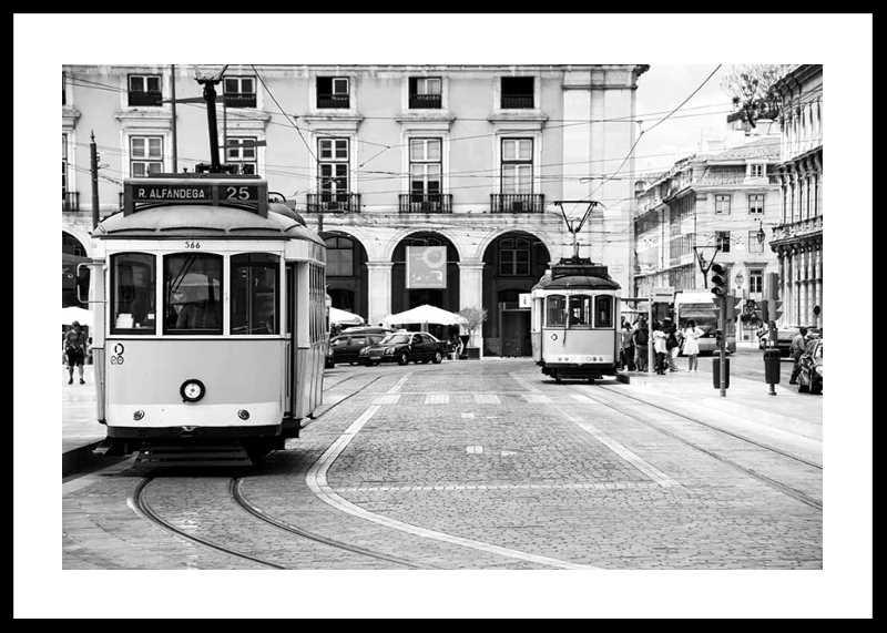 Trams In Lisbon-0