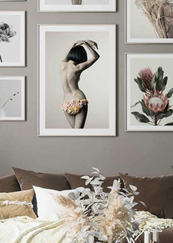 Flower Pose No1-4