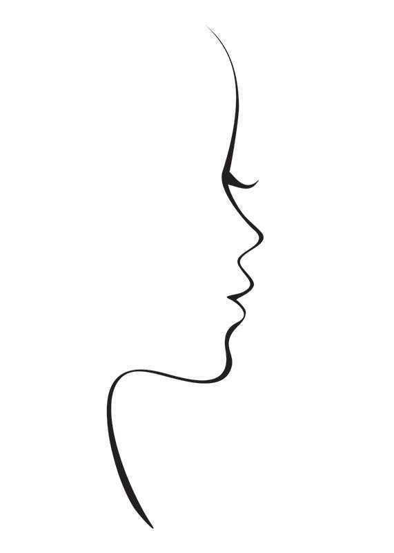 Line Art Siluette-1
