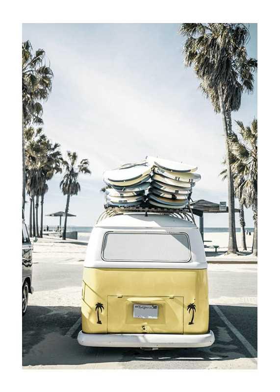 Venice Beach Surf Van-1