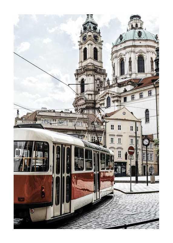 Tram In Mala Strana-1