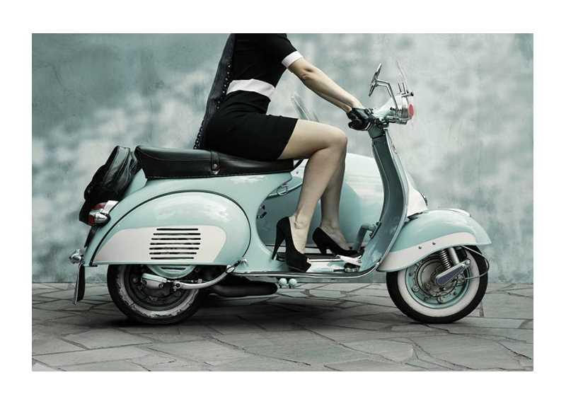 Vintage Scooter-1