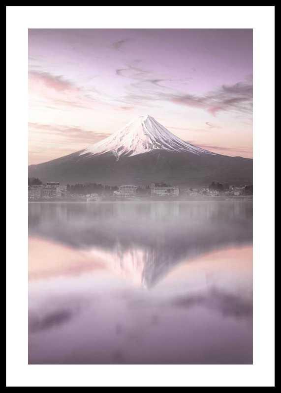 Mount Fuji At Sunrise-0