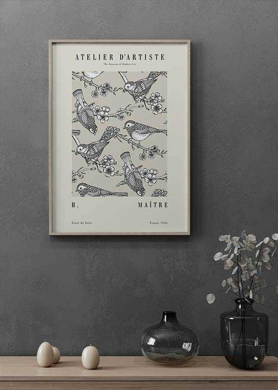 Matisse Oiseaux De Jardin-2